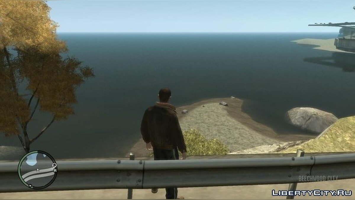 Texture mod New ocean texture for GTA 4