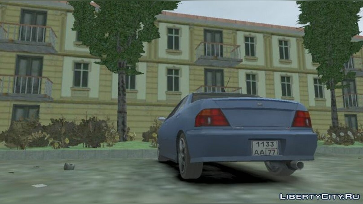 Texture mod Russian license plates for cars for GTA 4
