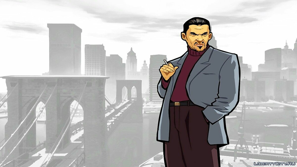 Texture mod Loading screens in the style of GTA Chinatown Wars for GTA 4