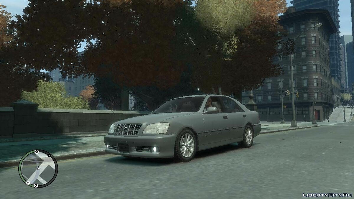 Toyota car 1999 Toyota Crown S170 v.1.0 for GTA 4
