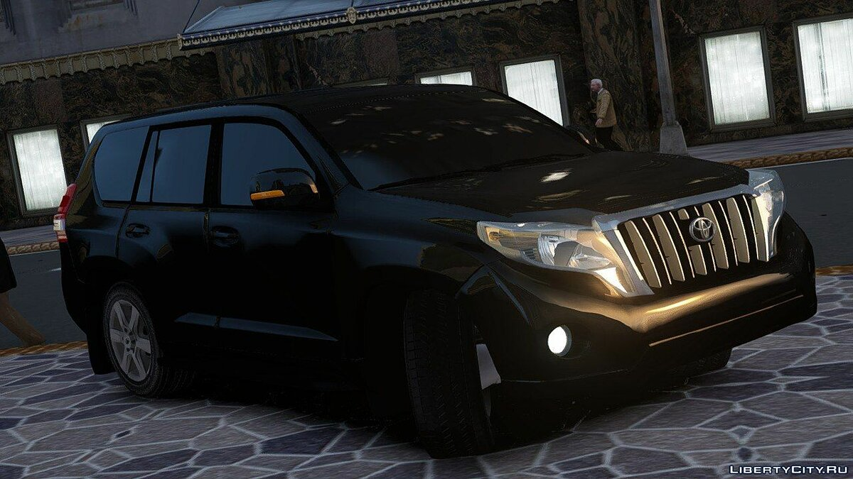 Toyota car Toyota Land Cruiser Prado 150 2016 for GTA 4