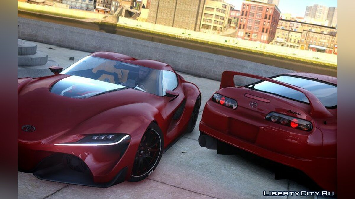 Toyota car 2014 Toyota FT-1 Supra Concept for GTA 4