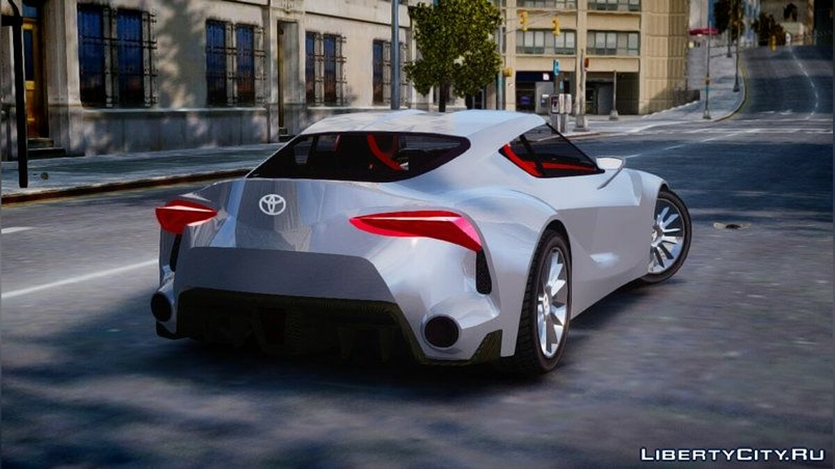 Toyota car 2014 Toyota FT-1 concept for GTA 4