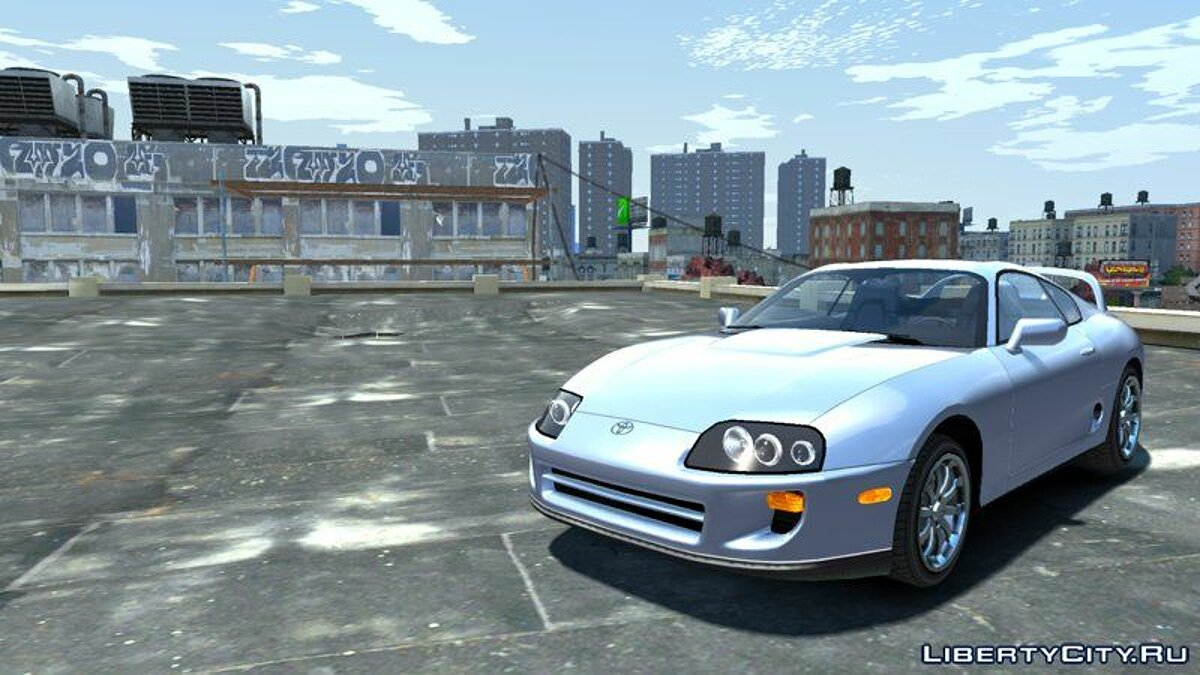 Toyota car Toyota Supra RZ (NFS Carbon) for GTA 4