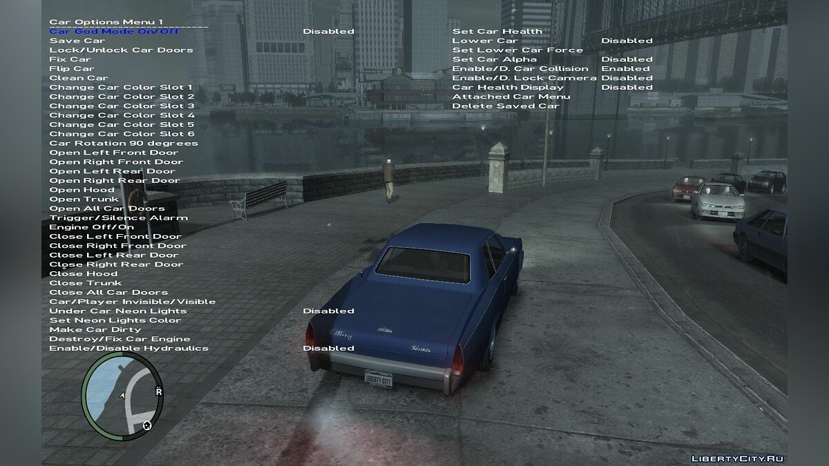 Simple Native Trainer 1.0.8.0 - Cheat Menu for GTA 4 - Картинка #1