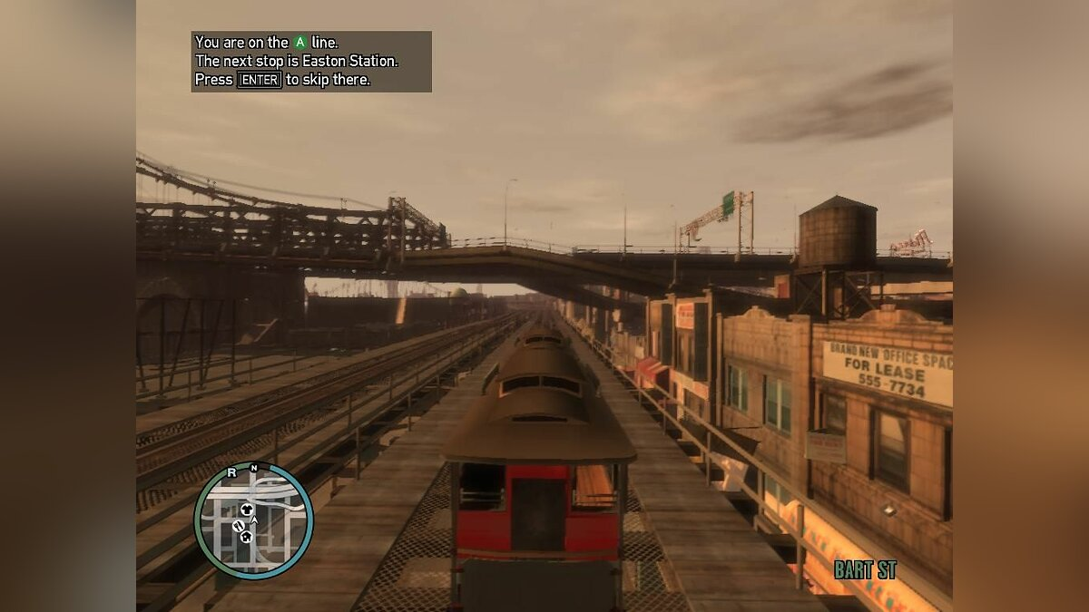 Train Tram from San Andreas for GTA 4