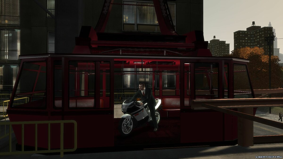 Train Open cable car mod for GTA 4