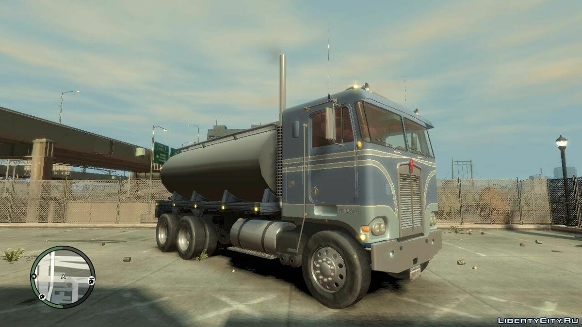 Trucks car Kenworth K 100 for GTA 4