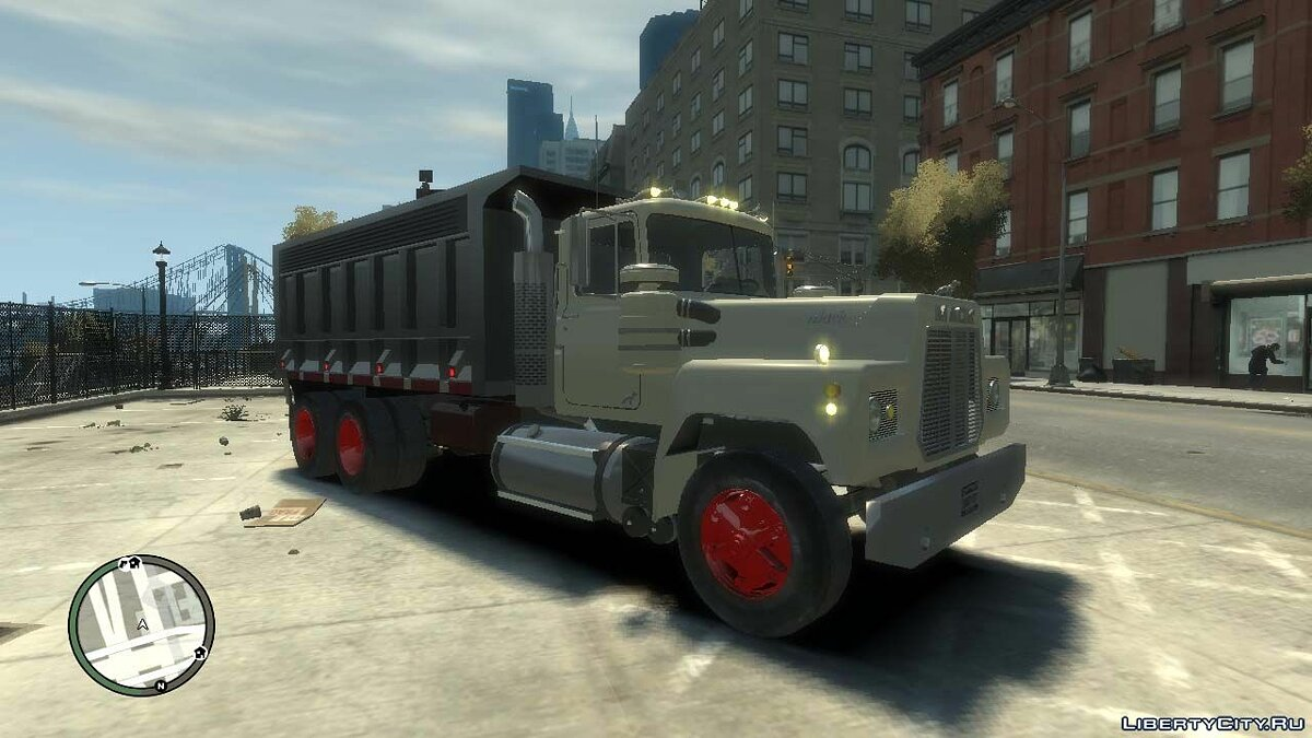 Trucks car Mack R-600 for GTA 4