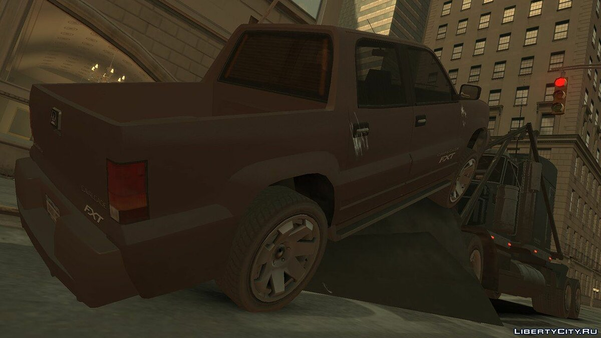 Trucks car Jobuilt Phantom Wedge for GTA 4