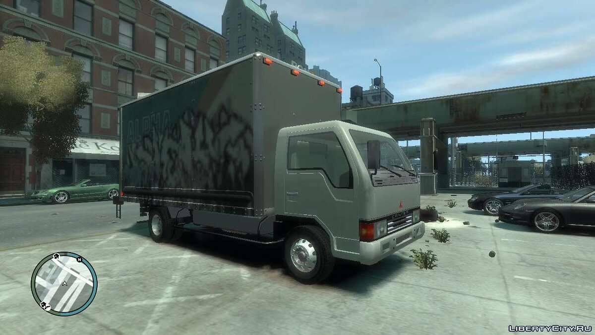Trucks car 1989 Mitsubishi Fuso Canter for GTA 4