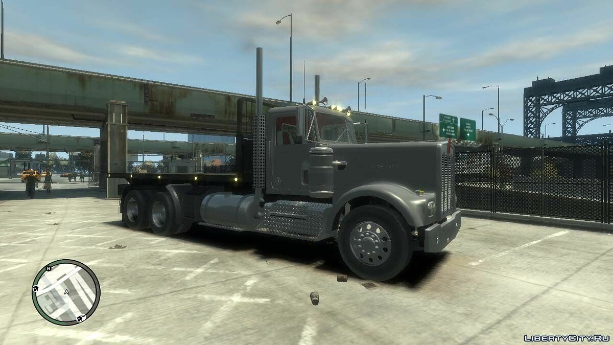 Trucks car 1979 Kenworth W900 for GTA 4