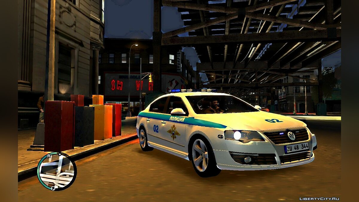 Volkswagen car Vw Passat B6 Sedan - Police of the Ministry of Internal Affairs of Russia for GTA 4