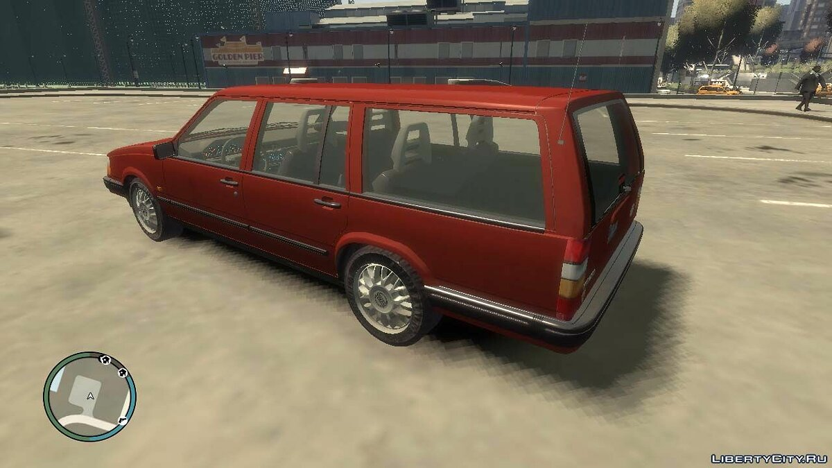 Volvo car Volvo 945 Estate for GTA 4