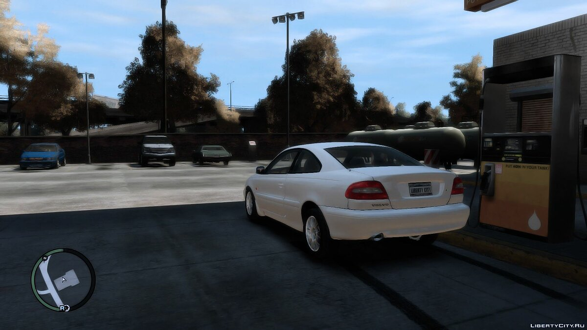 Volvo car 1999 Volvo C70 for GTA 4