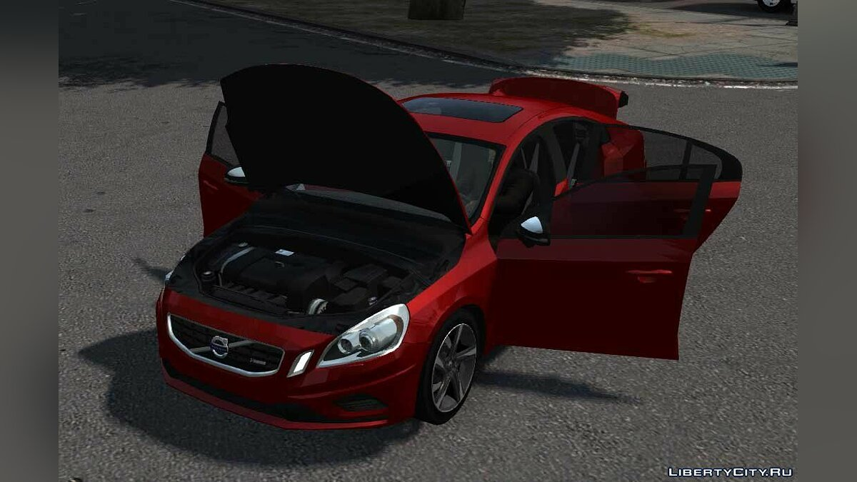 Volvo car Volvo S60 R Design V2 for GTA 4