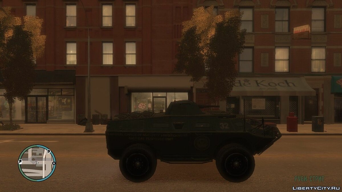 Military vehicle APC from TBoGT for GTA 4