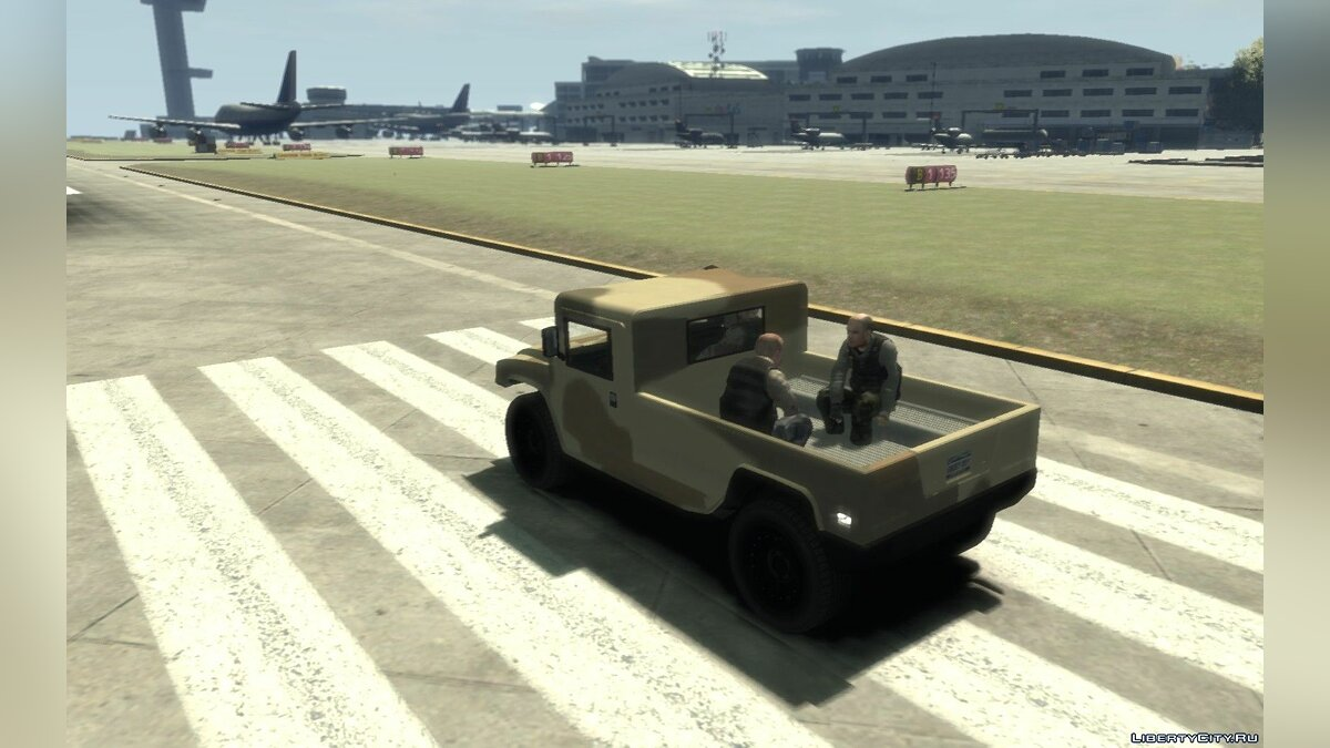 Military vehicle GTA 5 cutted Military Patriot replica for GTA 4