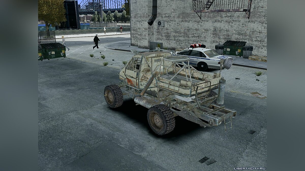 Military vehicle Military Armored Truck for GTA 4