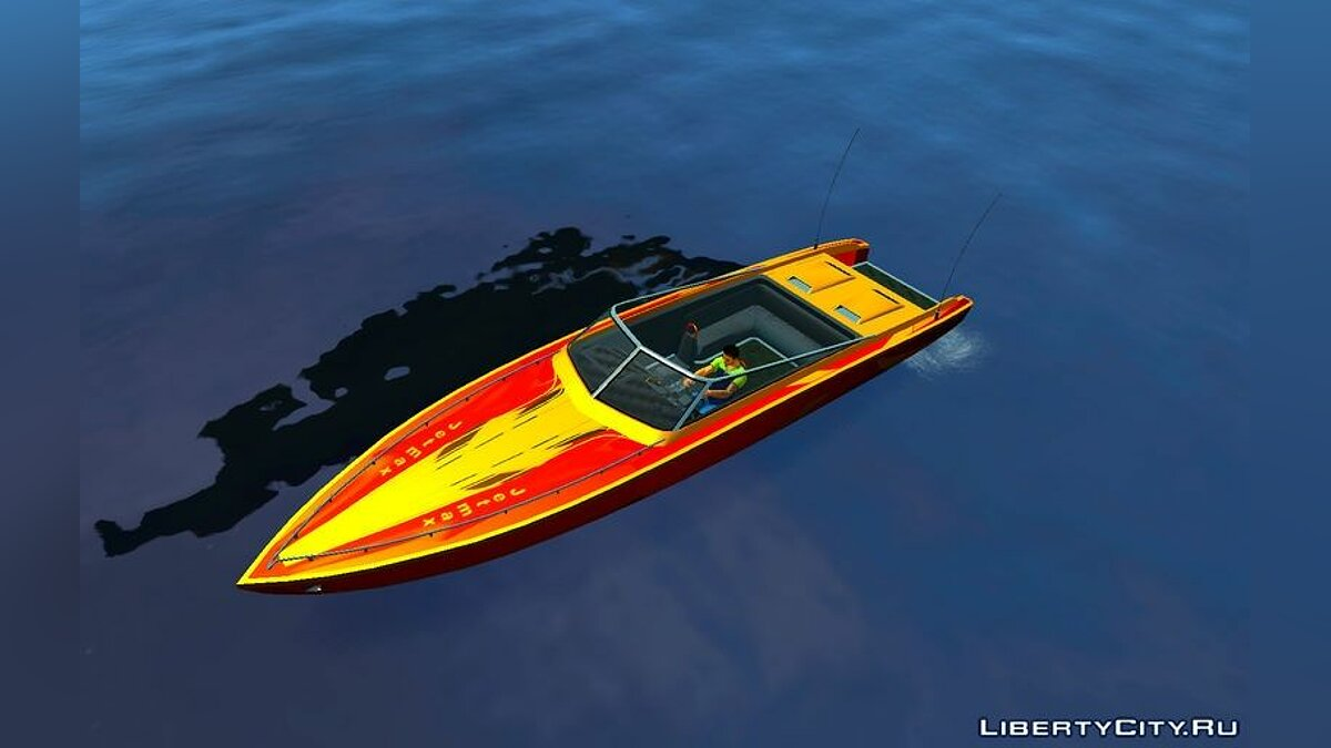 Boats and motorboats Jetmax Update for GTA 4