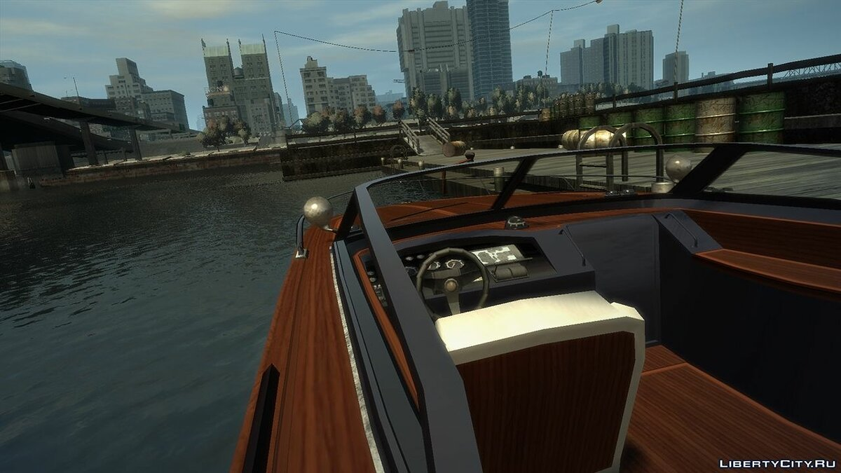 Boats and motorboats GTA V Speeder for GTA 4