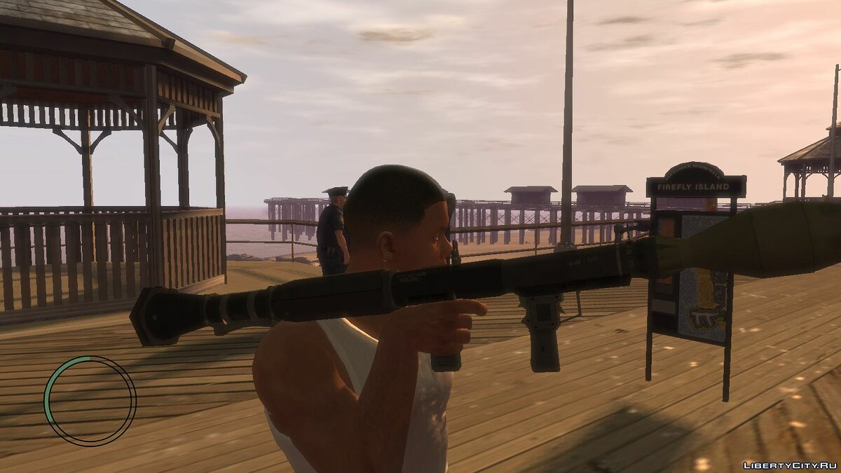 Weapon mod Rpg from GTA V for GTA IV for GTA 4