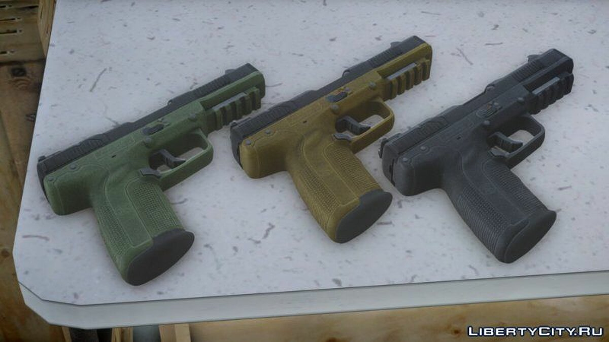 Weapon mod FN Five-seveN® for GTA 4