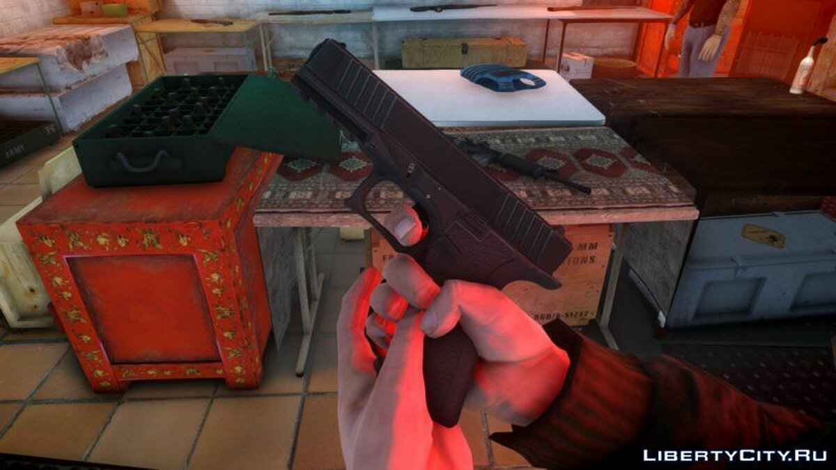 Weapon mod Polymer 80 PF940 for GTA 4