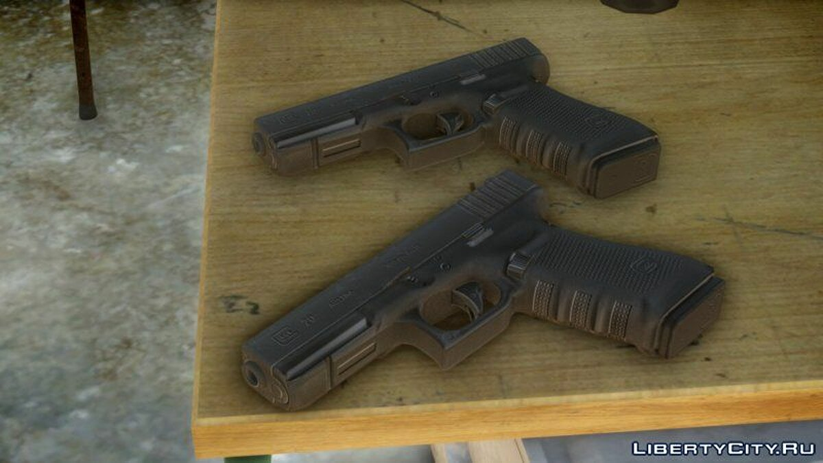 Weapon mod Glock 20 10mm Auto for GTA 4