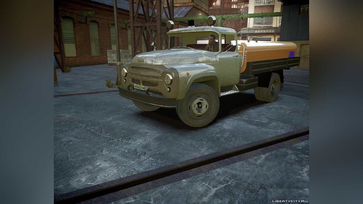 ZIL car ZiL 130 KO-829 for GTA 4