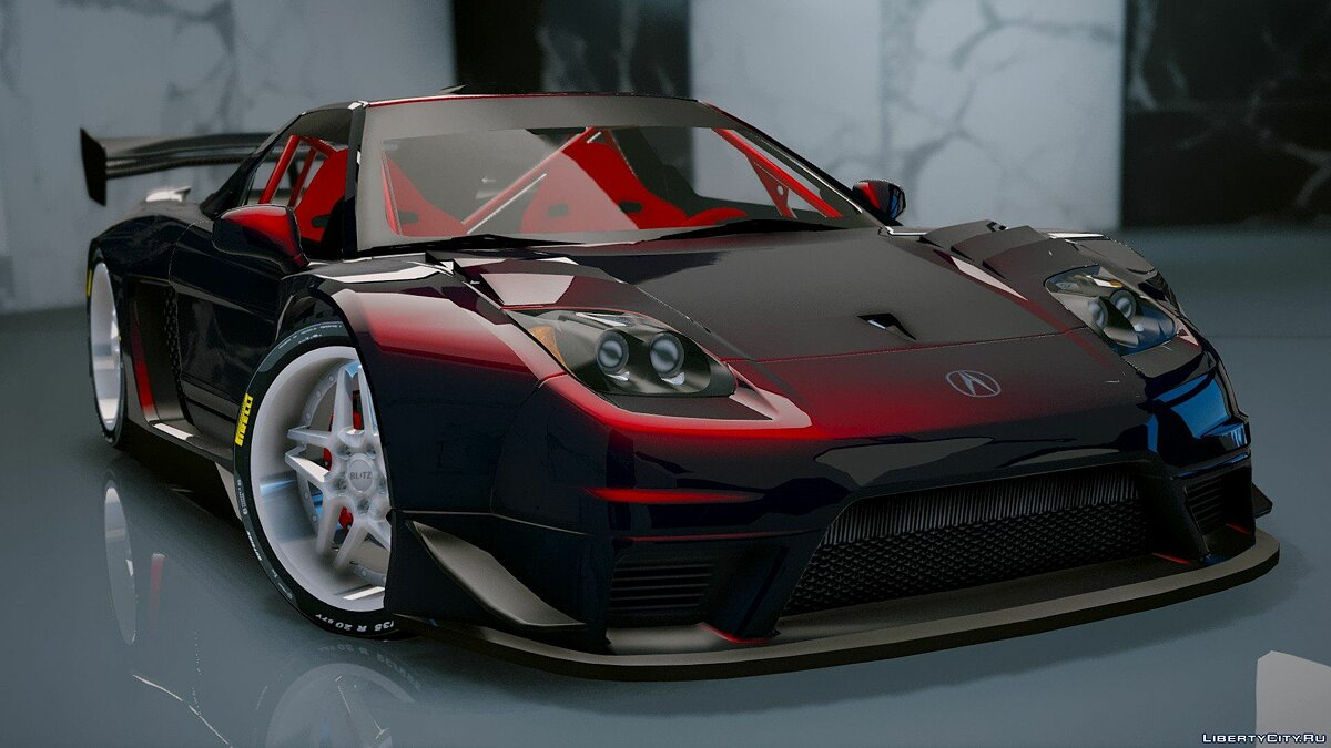 Acura car Acura NSX 2002 [Add-On] 1.1 for GTA 5