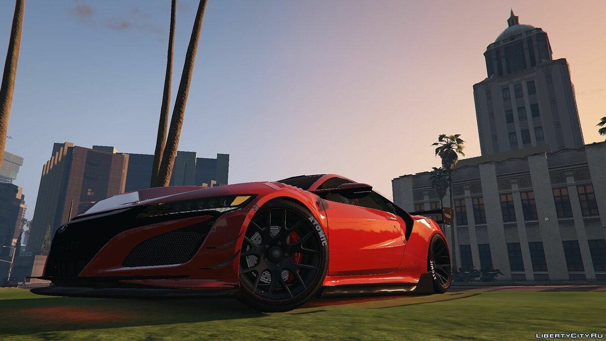 Acura car Acura NSX 2015 for GTA 5