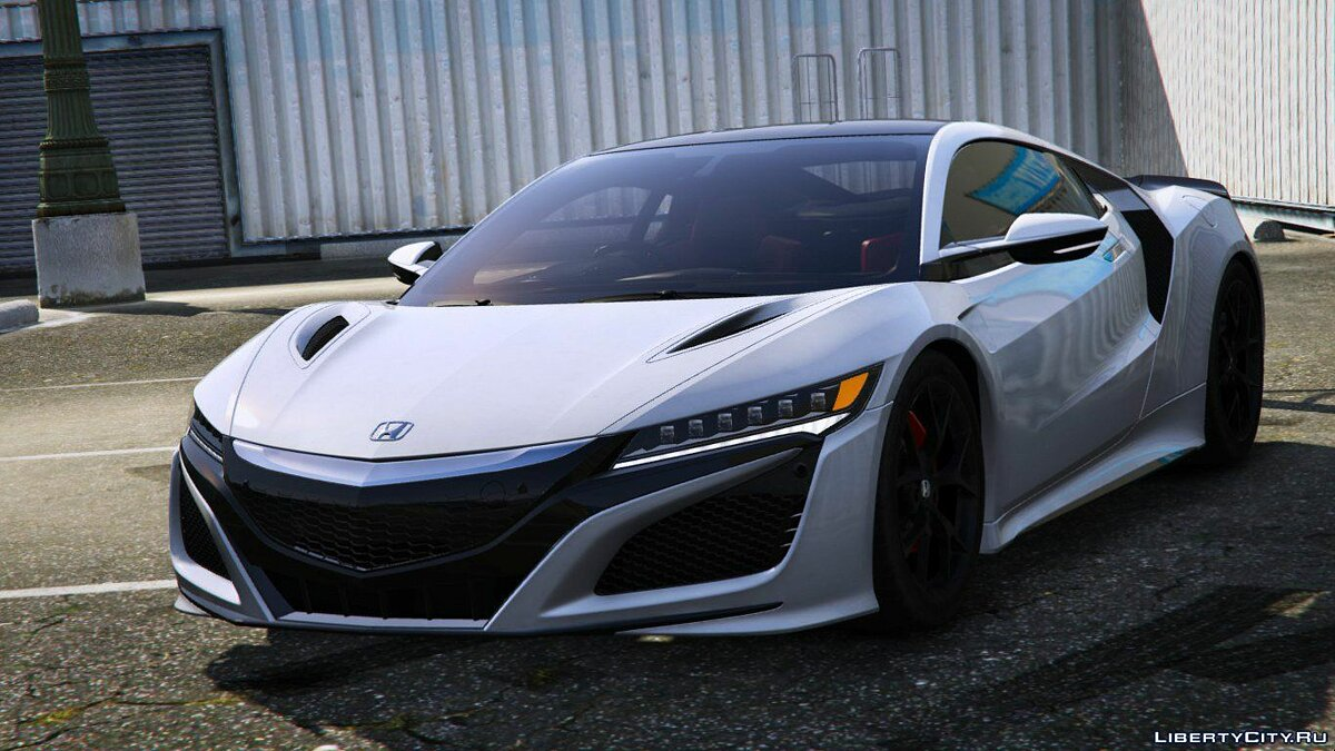Acura car 2016 Honda NSX (NC1) [Add-On] 1.5 for GTA 5