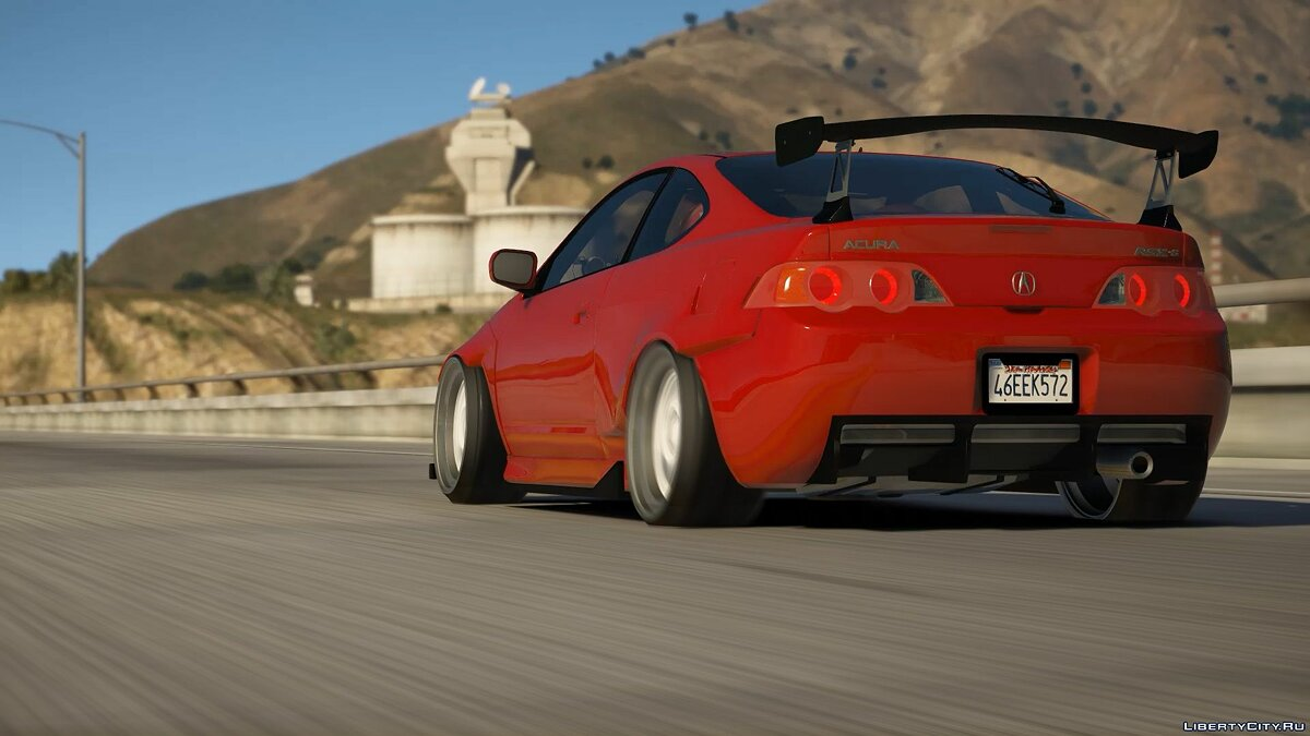 Acura car Acura RSX Widebody [Replace] 0.1 for GTA 5