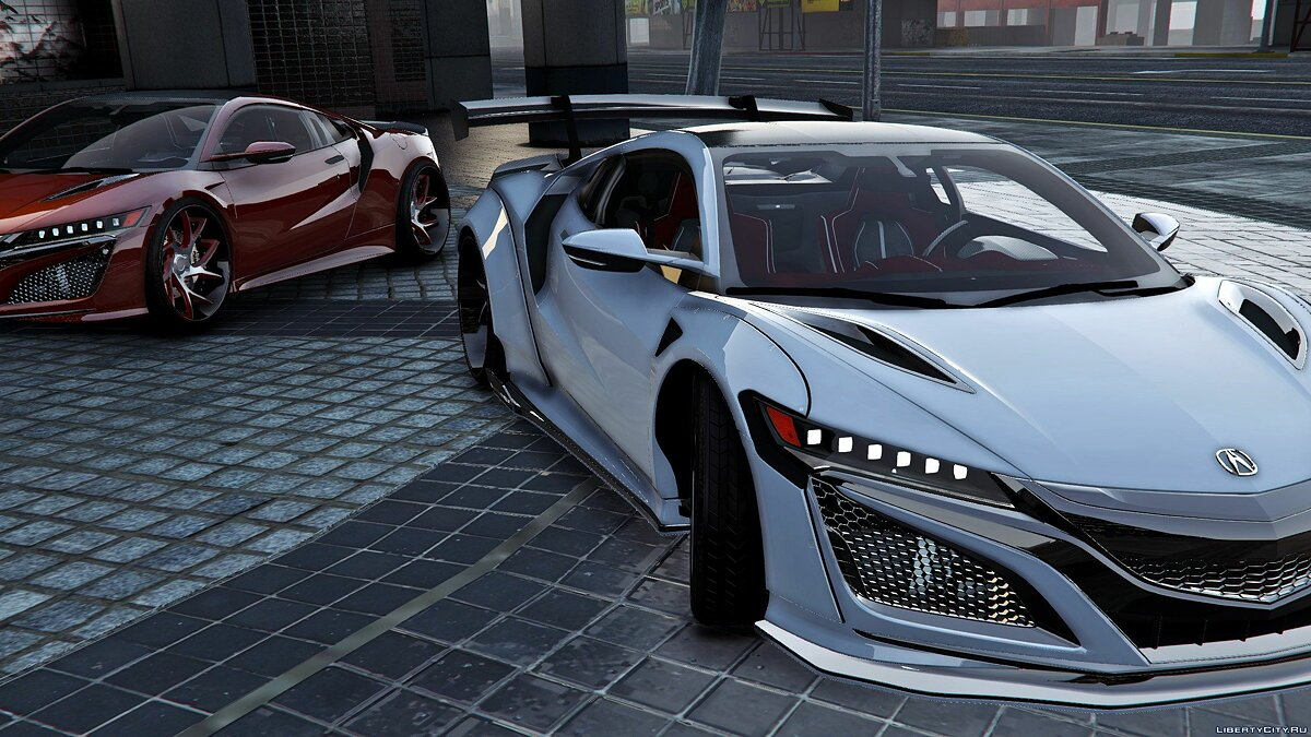 Acura car 2016 Acura NSX x Liberty Walk x Savini [Mod-Kit | Add-on] 1.0 for GTA 5