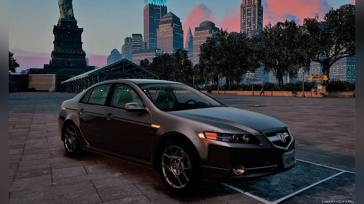 Acura car Acura TL Type-S [Add-on | Replace] 1.0 for GTA 5