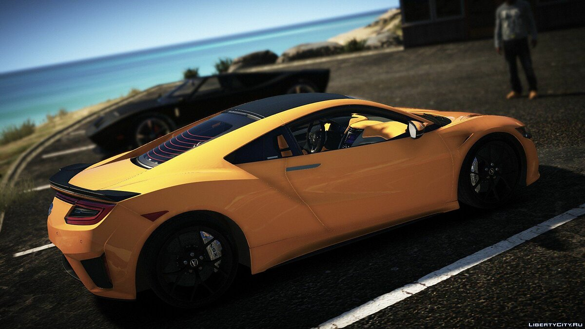 Acura car Acura Nsx 2016 [Add On] [Replace] 1.0 for GTA 5