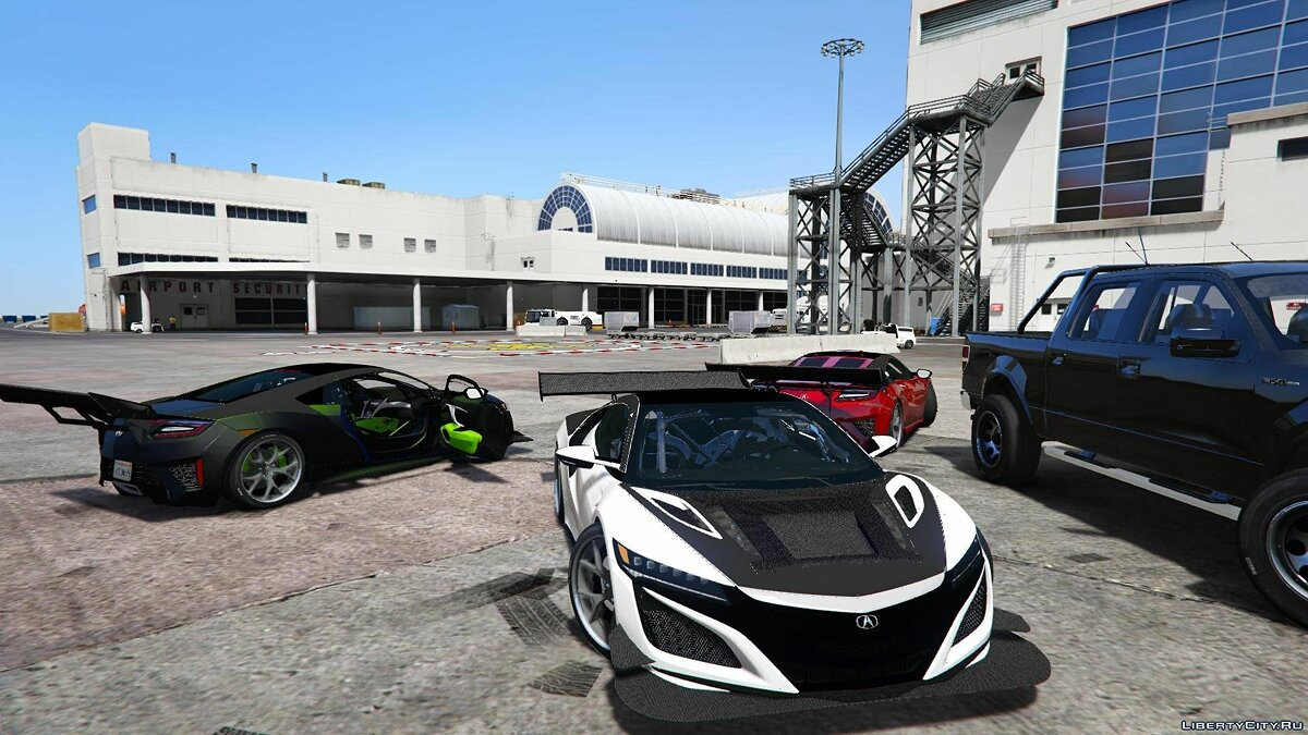 Acura car Acura NSX 2015 Track Spec (Unlocked) for GTA 5