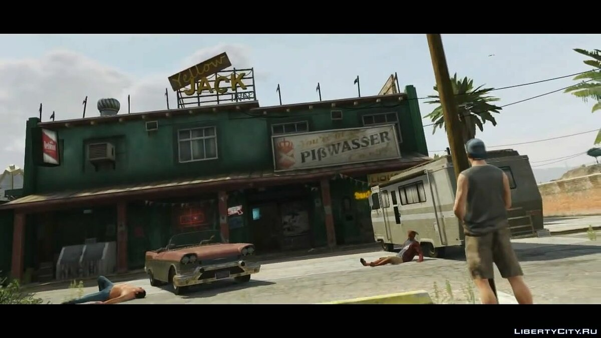 Publicity Blaine County Trailer for GTA 5