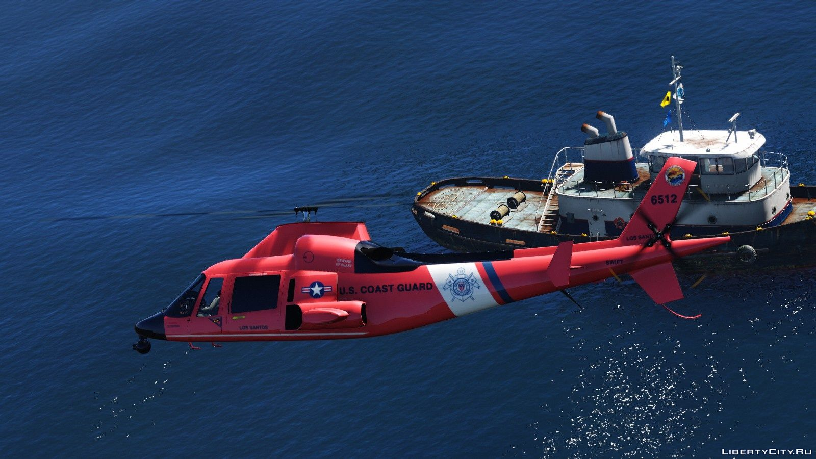 United States Coast Guard Lore Friendly Pack Add On 1 0 For Gta 5