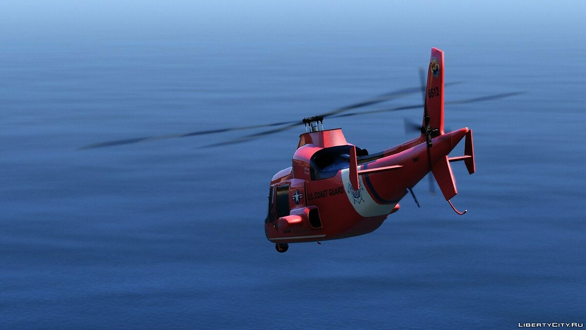 Planes and helicopters United States Coast Guard - Lore Friendly Pack [Add-On] 1.0 for GTA 5