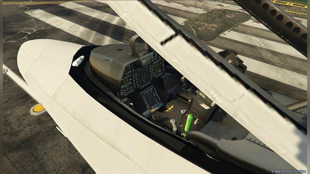 Planes and helicopters F-22 Raptor v1.5 for GTA 5