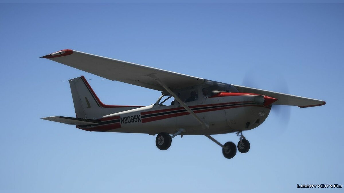 Planes and helicopters Cessna 172N Skyhawk II [Add-on] for GTA 5