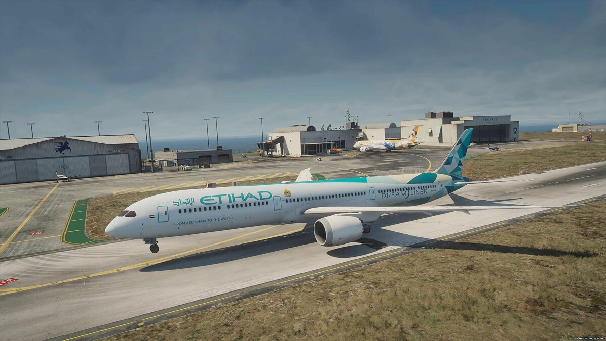 Planes and helicopters Boeing 787-10 Dreamliner [Add-On | Tuning I Liveries] 1.2 for GTA 5