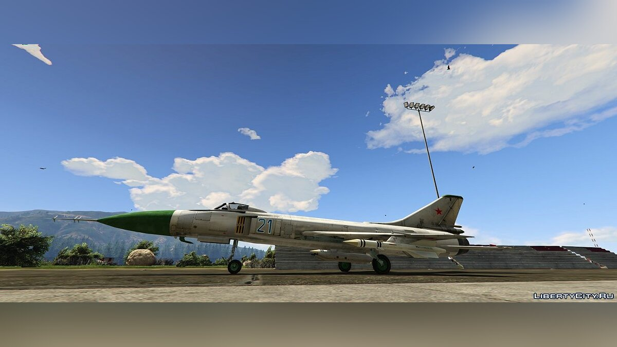 Planes and helicopters Sukhoi SU-15 [Add-On] 1.0 for GTA 5