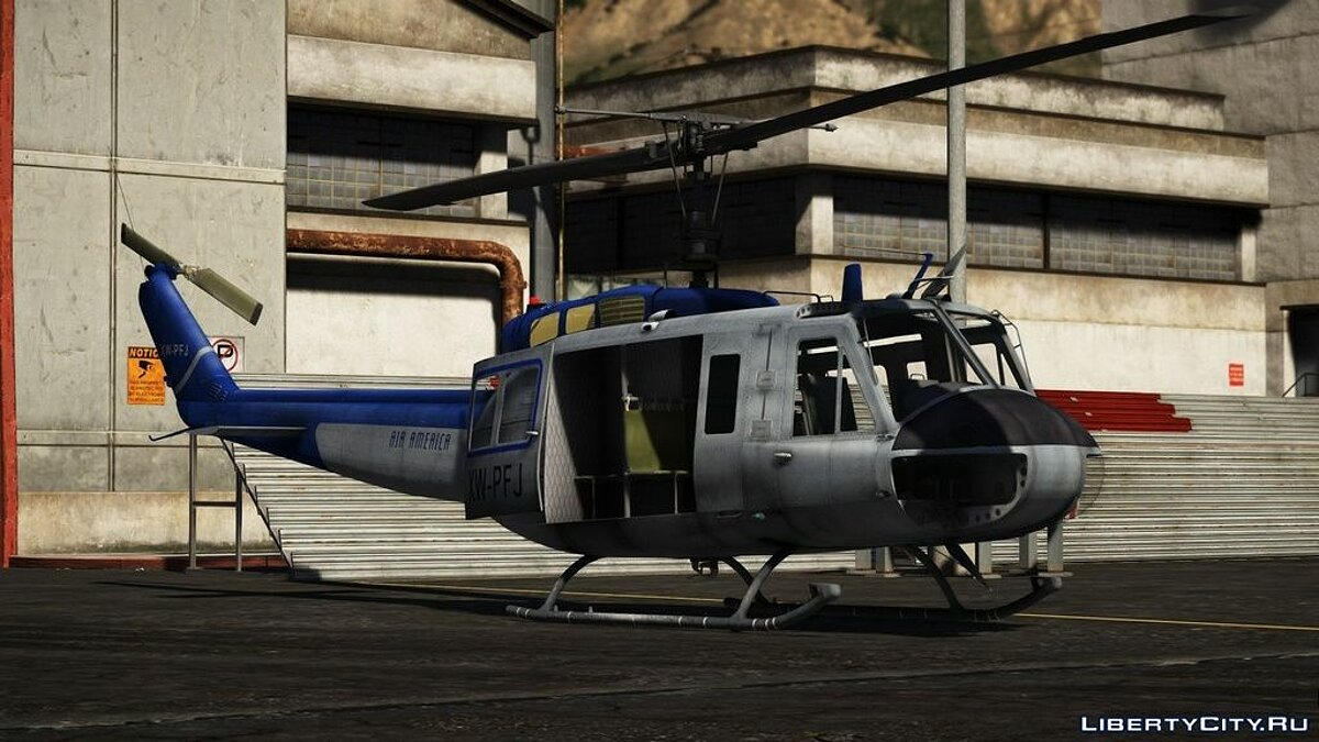 Planes and helicopters UH-1H Iroquois