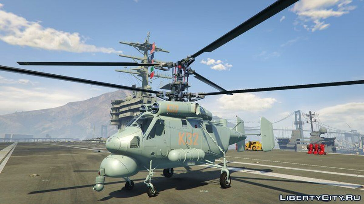 Planes and helicopters Kamov-25a (add-on) for GTA 5