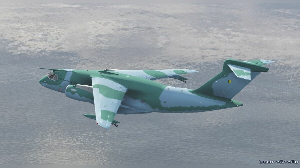 Planes and helicopters Embraer KC-390 [Add-on] for GTA 5