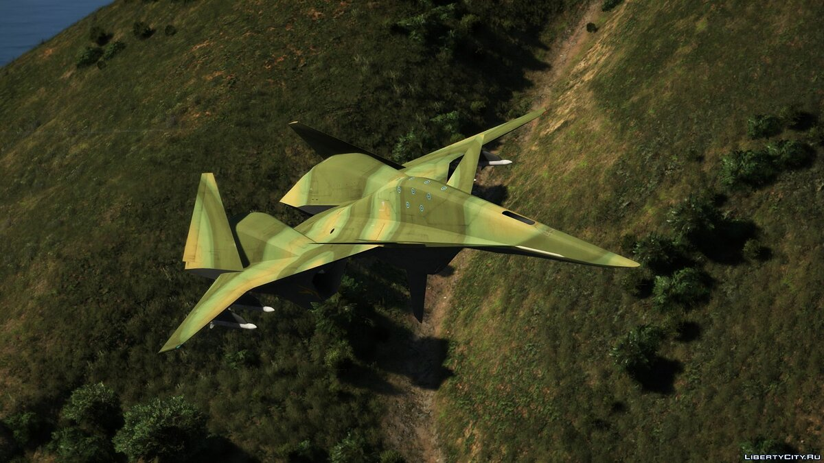 Planes and helicopters ADF-01 Falken [Add-On | Custom weapons] 1.0 for GTA 5