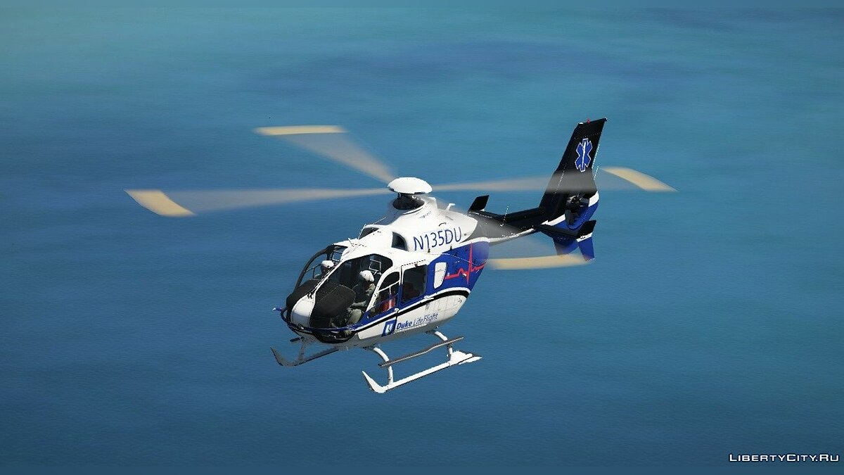 Planes and helicopters Airbus EC-135 T2 [Add-on] 1.0 for GTA 5